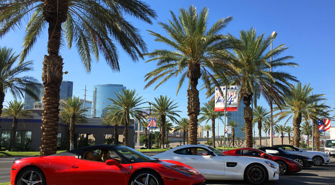 Las Vegas exotic driving experience one-of-a-kind