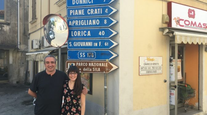 Calabria: Father and daughter return to the Old Country – Part One